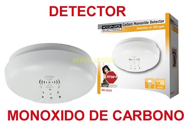 Alarme Residencial - Deteção de monóxido de carbono