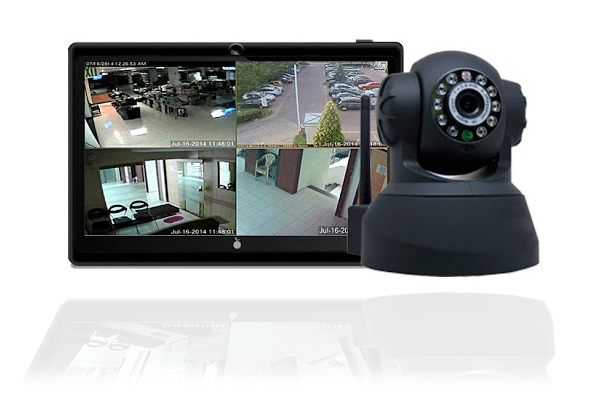 Como gravar as imagens captadas pela camera IP?