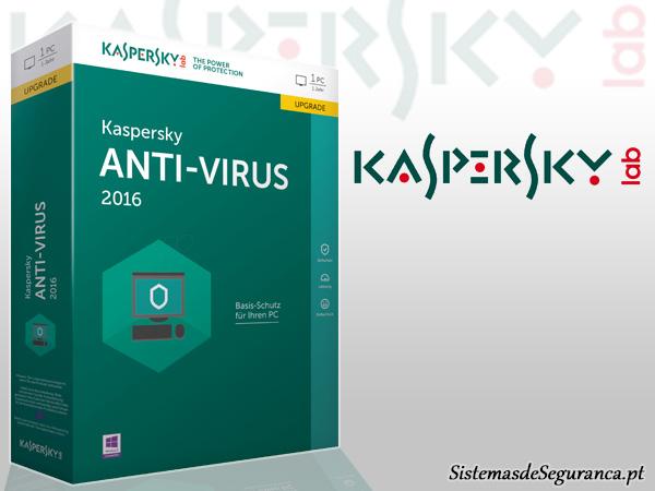 antivírus Kaspersky