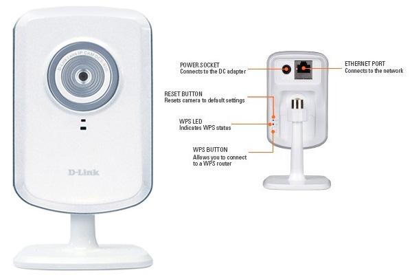 Camera IP D-Link Câmara IP Wireless