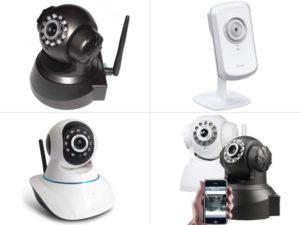Camera IP - Vídeo-vigilância sem fios